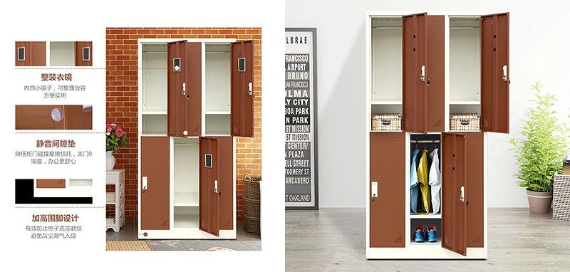 更衣柜,钢制更衣柜,六门更衣柜