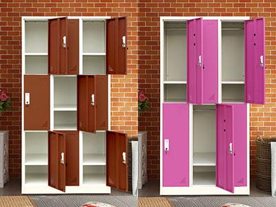 钢制更衣柜厂家:更衣柜的空间搭配
