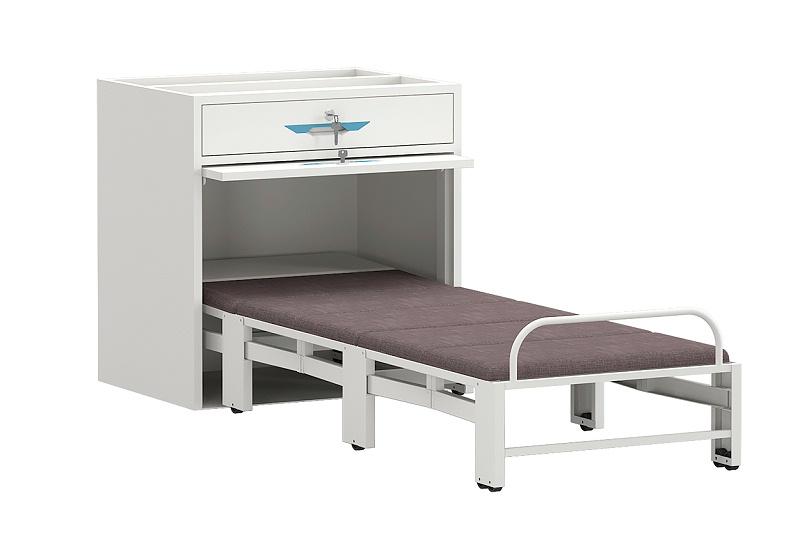 共享陪护床午休床陪护床床柜铁床