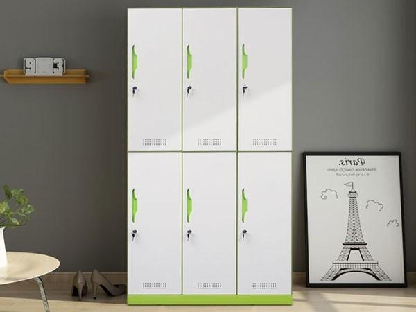 钢制六门更衣柜尺寸规格,丰龙六门更衣柜