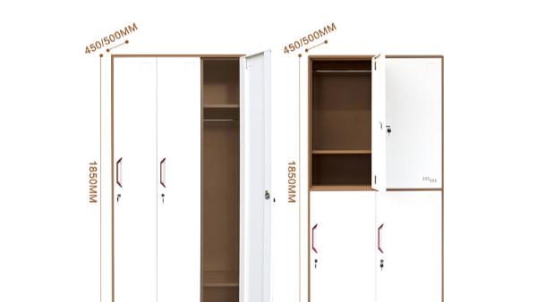 四门更衣柜大小,尺寸规格,丰龙四门更衣柜