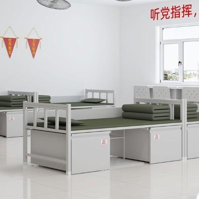 部队单层床