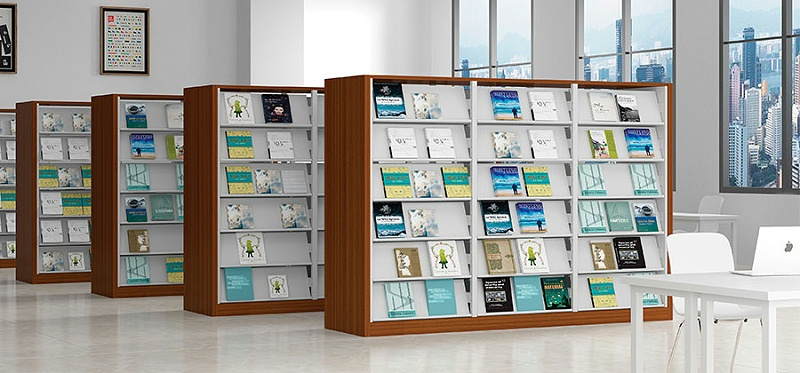 钢制书架,图书馆书架,钢制办公家具