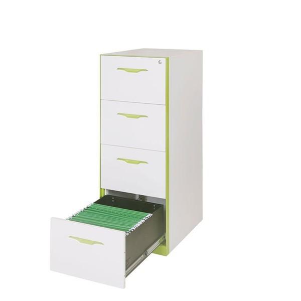 四抽卡箱文件柜