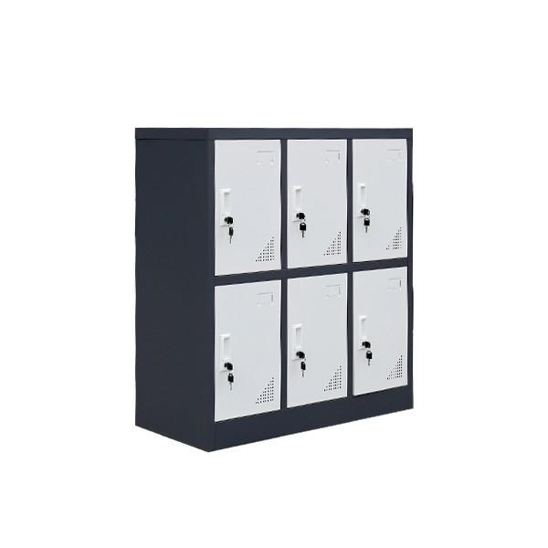 钢制储物柜,多门储物柜,品尚小六门